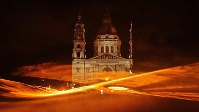 KNVB (Dutch Football Association) - Lightshow Budapest