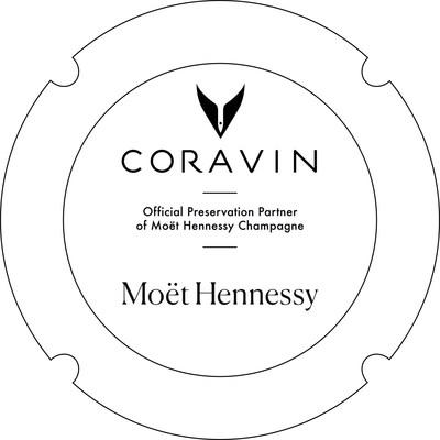 Logotipo de Coravin y Moët Hennessy (PRNewsfoto/Coravin)